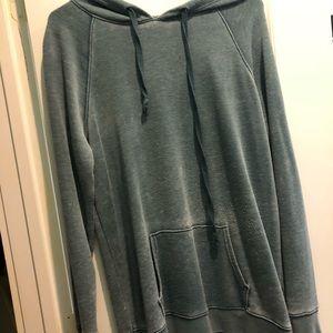 Blue American eagle hoodie